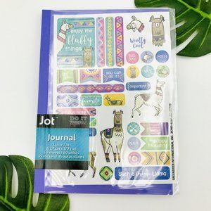 2/$10 SALE! New Purple Llama Journal With Stickers